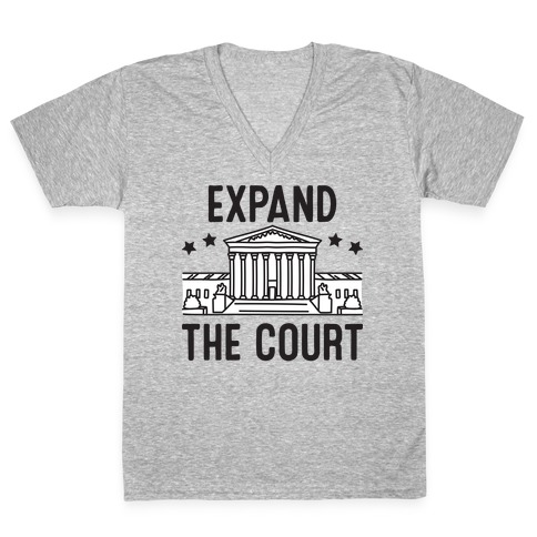 Expand The Court V-Neck Tee Shirt