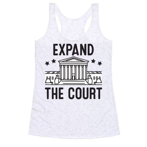 Expand The Court Racerback Tank Top