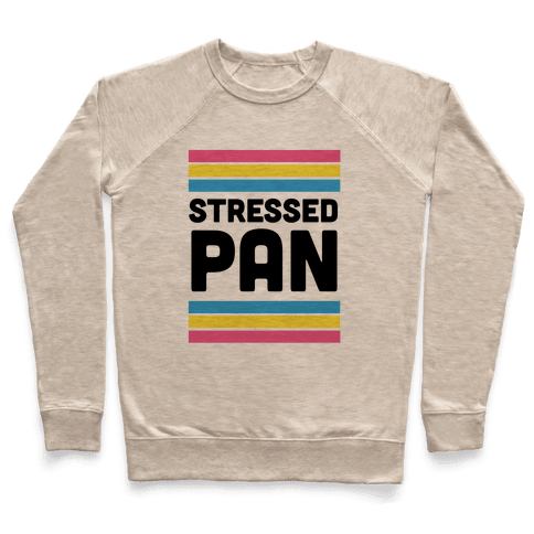 Stressed Pan Pullover