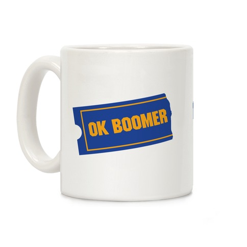 Ok Boomer Blockbuster Parody Coffee Mug