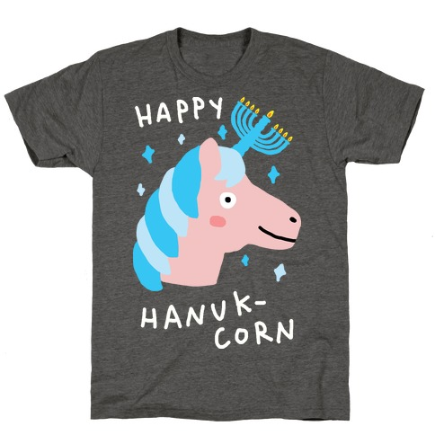 Happy Hanuk-Corn Unicorn T-Shirt