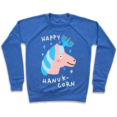 Happy Hanuk-Corn Unicorn Pullover
