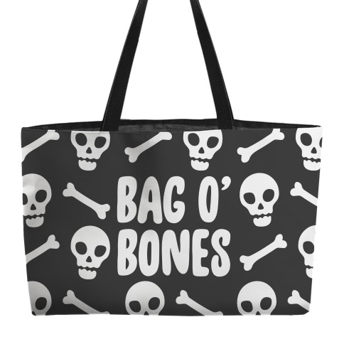 Bag O' Bones Parody Accessory Bag Weekender Tote