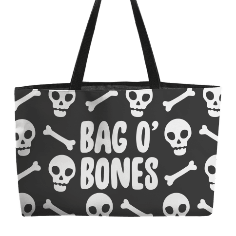 Bag O' Bones Parody Accessory Bag Weekender Tote