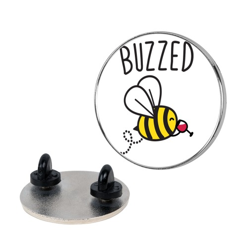 Buzzed Wine Bee Pin