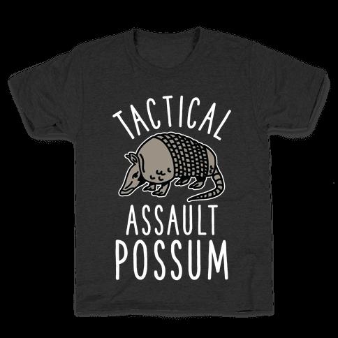 Tactical Assault Possum Kids T-Shirt