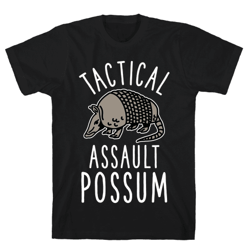 Tactical Assault Possum Mens T-Shirt