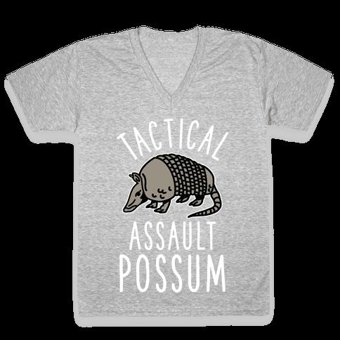 Tactical Assault Possum V-Neck Tee Shirt