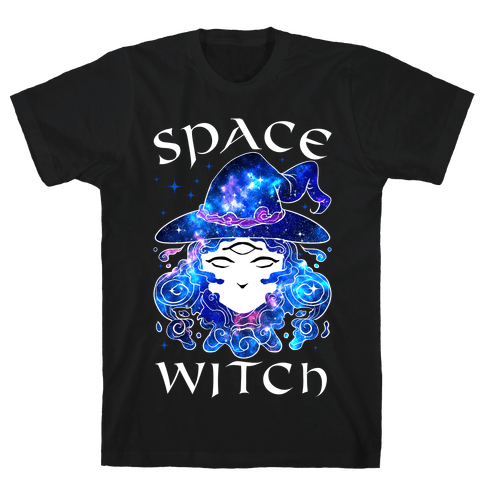 Space Witch Mens/Unisex T-Shirt
