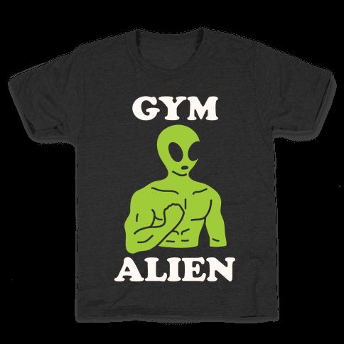 Gym Alien Kids T-Shirt