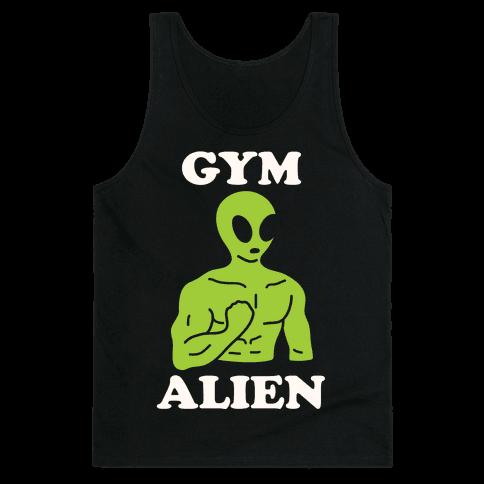 Gym Alien Tank Top