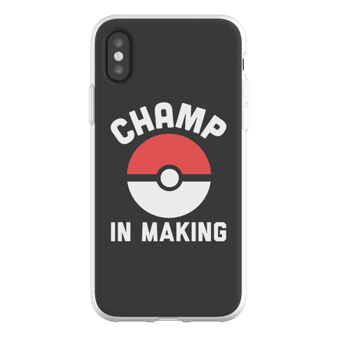 Champ in Making Phone Flexi-Case