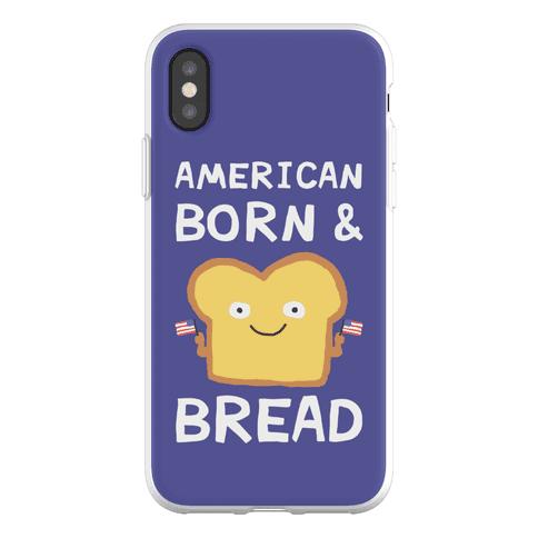 American Born And Bread Phone Flexi-Case