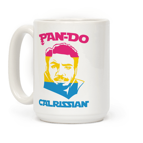 Pan-do Calrissian Parody Coffee Mug