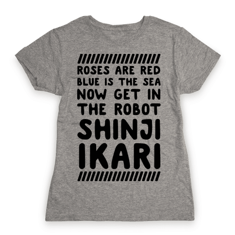 Get In The Robot Womens T-Shirt