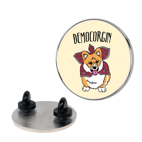 Democorgin Parody pin