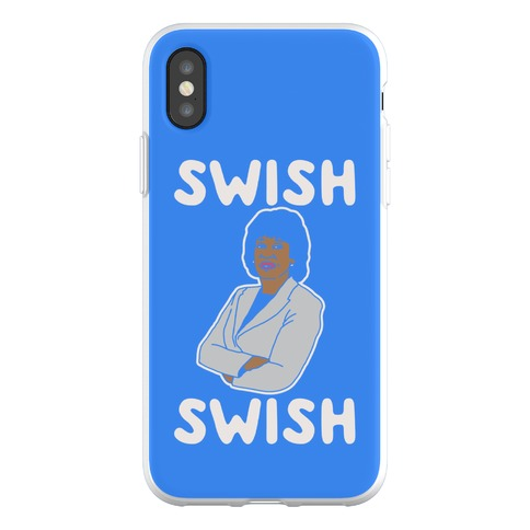 Swish Swish Maxine Waters Parody Phone Flexi-Case