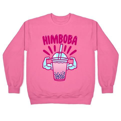 Himboba Himbo Bubble Tea Parody Pullover