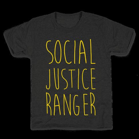 Social Justice Ranger Kids T-Shirt