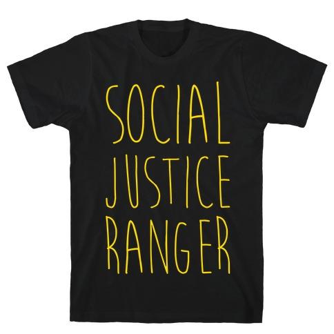 Social Justice Ranger Mens T-Shirt