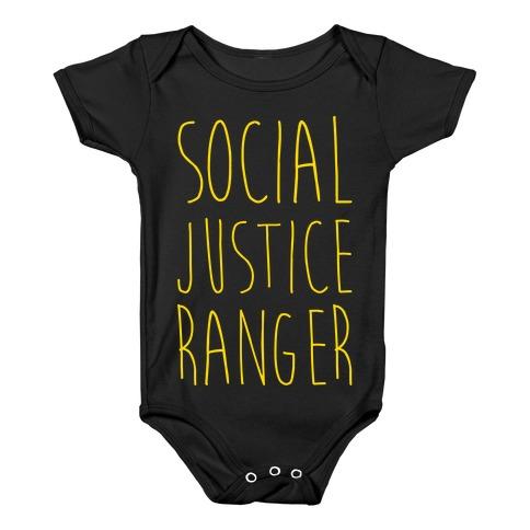 Social Justice Ranger Baby Onesy