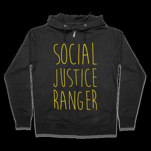 Social Justice Ranger Zip Hoodie