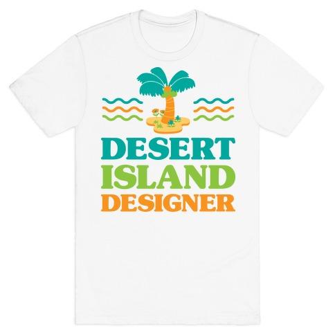 Desert Island Designer (Animal Crossing) T-Shirt