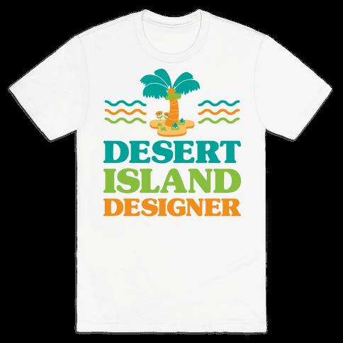 Desert Island Designer (Animal Crossing) Mens/Unisex T-Shirt