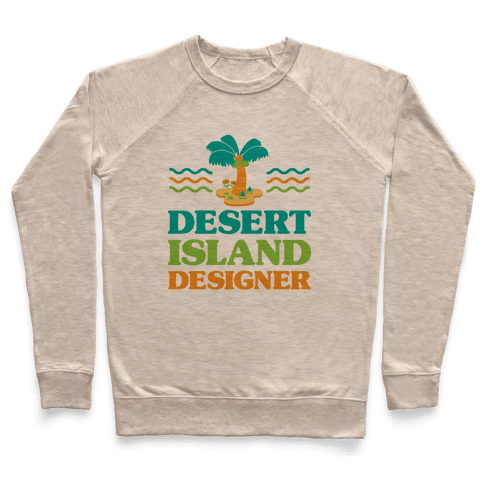 Desert Island Designer (Animal Crossing) Pullover
