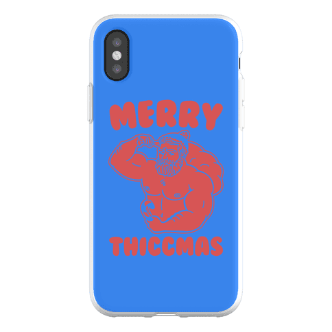 Merry Thiccmas Parody Phone Flexi-Case
