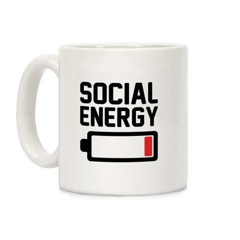 Social Energy Low  Coffee Mug