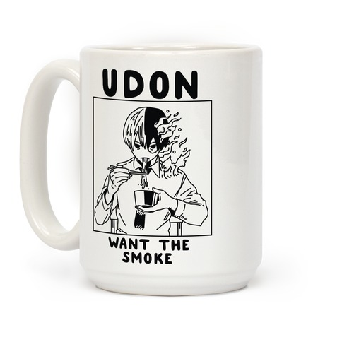 Udon Want the Smoke Coffee Mug
