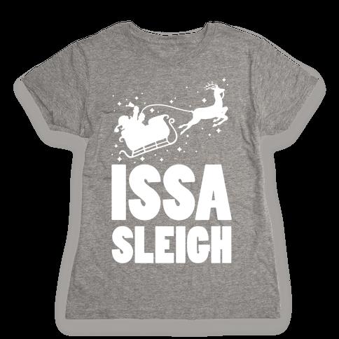 Issa Sleigh Womens T-Shirt