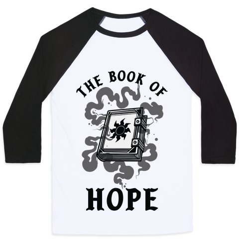 The Book Of Hope White Magic Baseball Tee