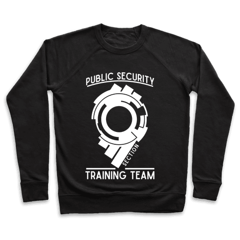 Section 9 Public Security Training Team Pullover