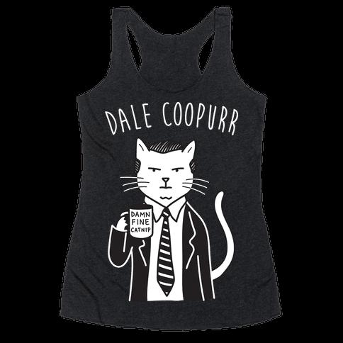 Dale Coopurr Racerback Tank Top