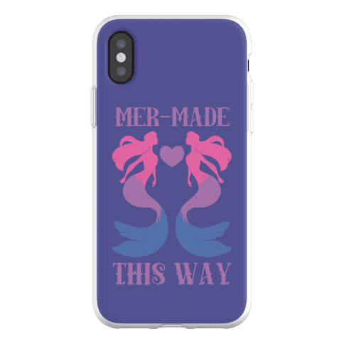 Mer-Made This Way - Bi Phone Flexi-Case