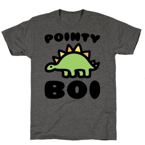Pointy Boi Stegosaurus T-Shirt