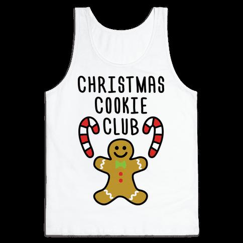 Christmas Cookie Club Tank Top