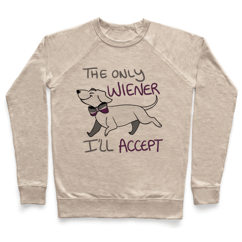 The Only Wiener I'll Accept Pullover