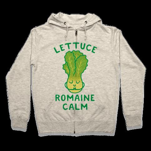 Lettuce Romaine Calm Zip Hoodie