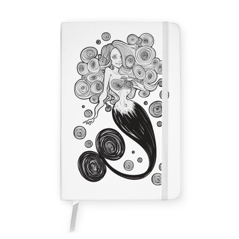 Spirals Mermaid Parody Notebook