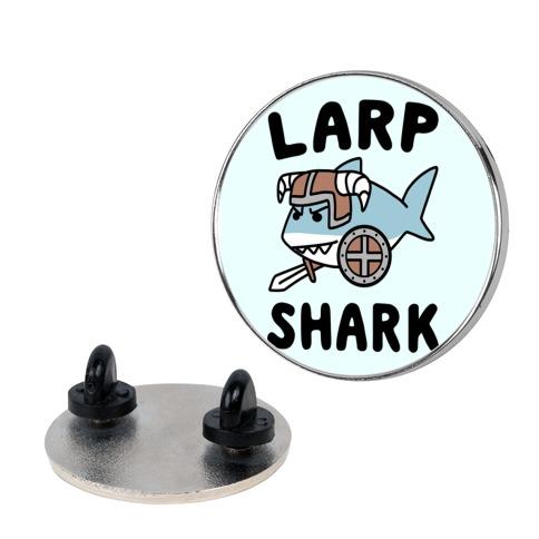 Larp Shark Pin