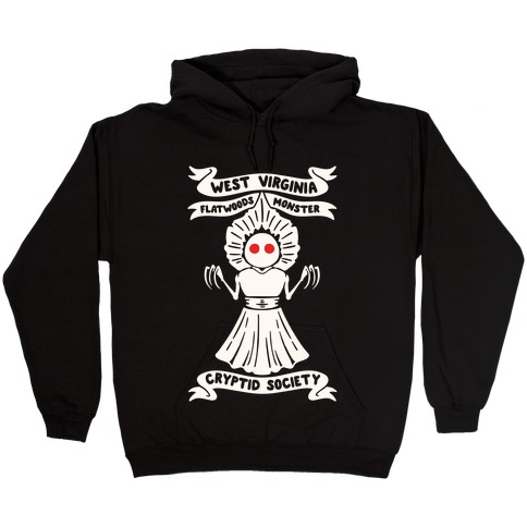 West Virginia Flatwoods Monster Cryptid Society Hooded Sweatshirt