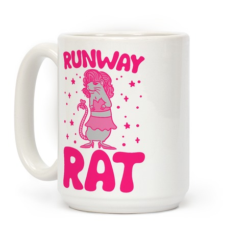 Runway Rat Coffee Mug