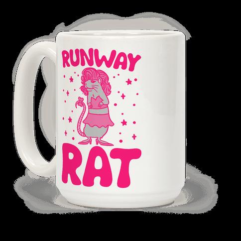 Runway Rat Coffee Mug