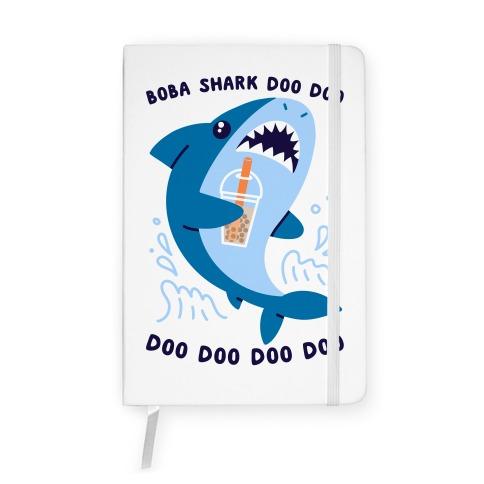 Boba Shark Notebook