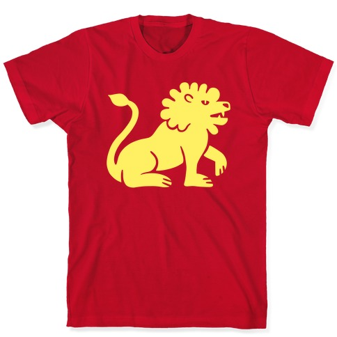 Zodiacs Of The Hidden Temple - Leo Lion T-Shirt