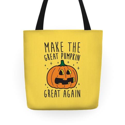 Make The Great Pumpkin Great Again Tote