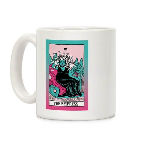 Creepy Cute Tarots: The Empress Medusa Coffee Mug